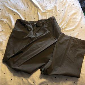 ARMANI COLLEZIONI dark gray pants 14 petite.
